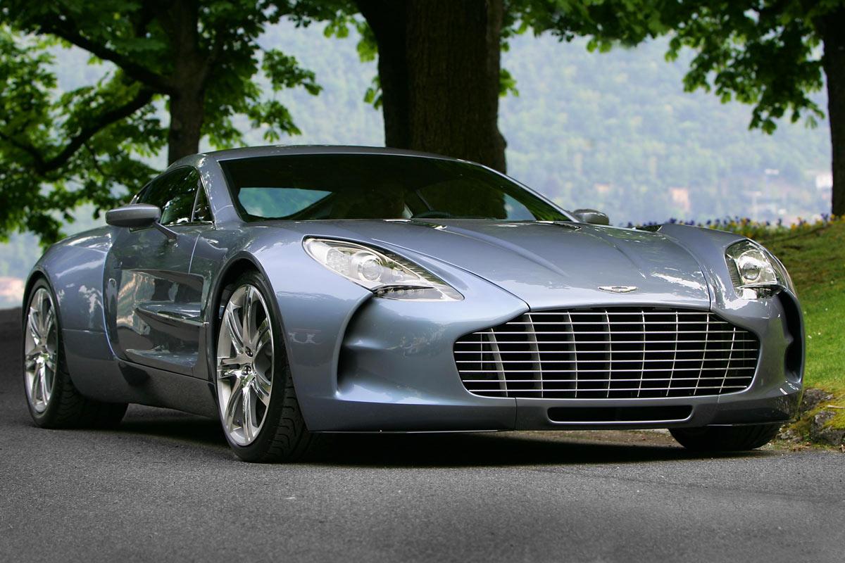 One-77, el exclusivo y potente superdeportivo de Aston Martin!