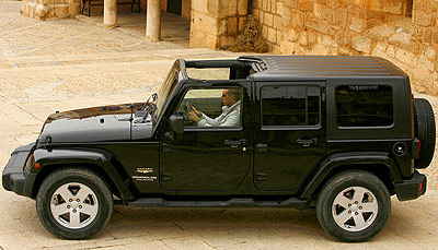 Jeep Wrangler Unlimited. Modelo 2009