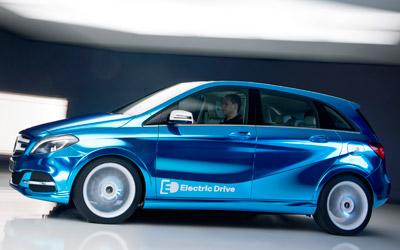 Foto de - mercedes clase-b-electric-drive-concept