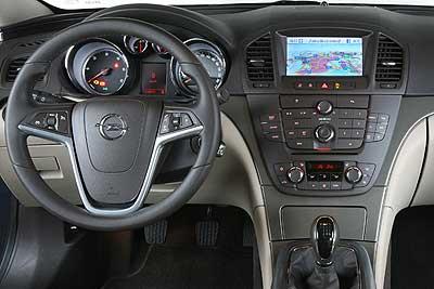 Opel insignia 2009 informaci n general for Interior opel insignia 2015