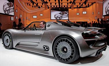 Foto de - porsche 918-spyder-concept-car