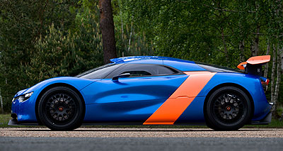 Foto de - renault alpine-a110-50-concept