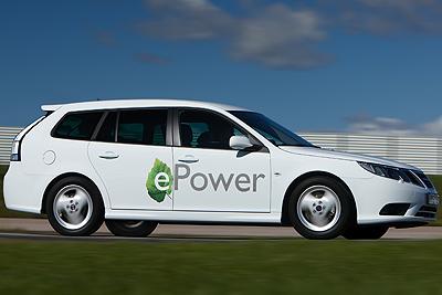 Foto de - saab 9-3-epower-prototipo