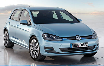 Foto de - volkswagen studie-golf-bluemotion