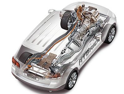 Foto de - volkswagen touareg-hybrid-prototipo