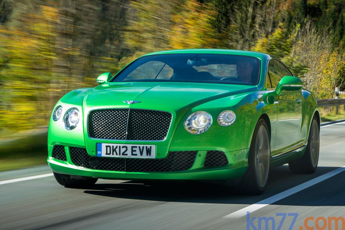 No corta el mar sino vuela un….Bentley Continental GT Speed
