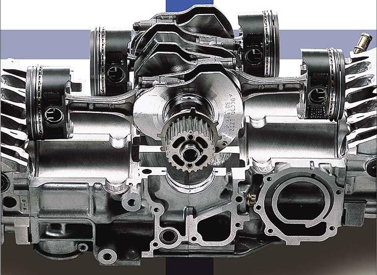 Motor b�xer de Subaru