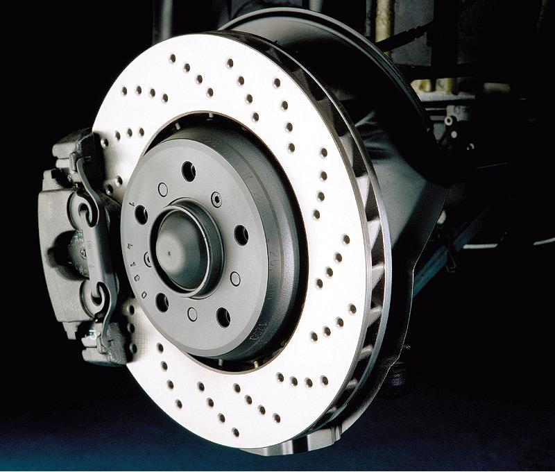 Disco de freno cerámico Porsche