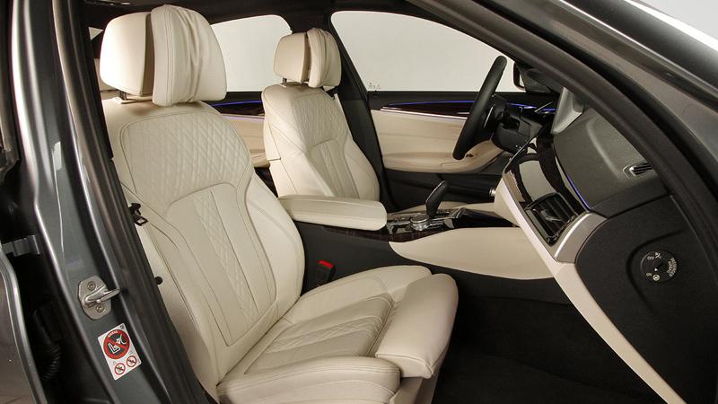 BMW Serie 5 2017. Imágenes del interior.