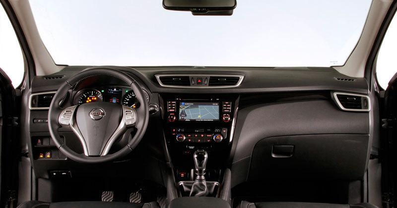 Nissan qashqai 2014 impresiones del interior for Interior nissan qashqai 2014