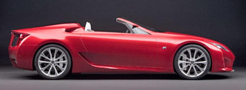 Foto de - lexus lf-a-roadster-prototipo