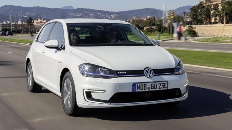 Volkswagen e-Golf 2017. Imágenes exteriores.