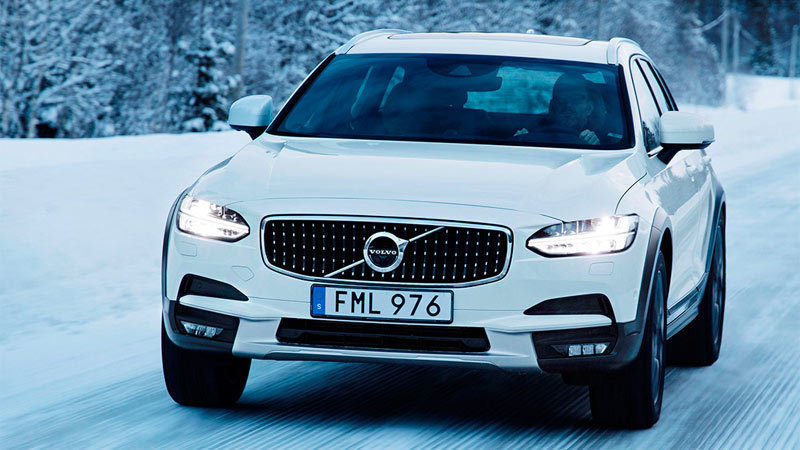 Volvo V90 Cross Country 2017. Imagen exterior frontal