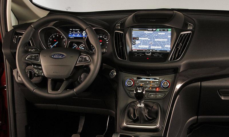 Ford C-MAX (2015)   Impresiones del interior - km77.com