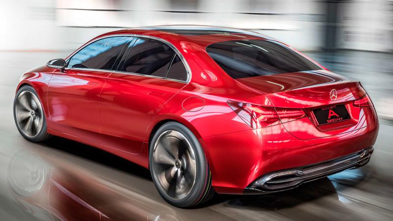 Foto de - mercedes concept-a-sedan
