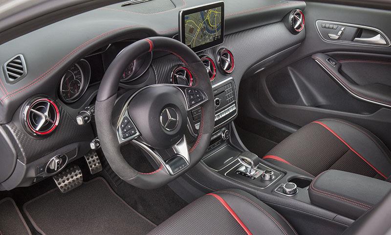 Mercedes benz clase a 5 puertas 2016 amg 45 4 matic for Interior mercedes clase a
