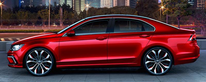 Foto de - volkswagen new-midsize-coupe-prototipo