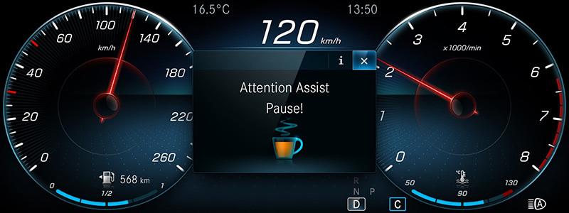 Detección de fatiga y distracción del conductor