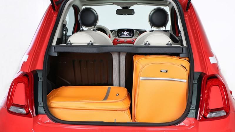 Capacidad maletero fiat 500 idea de imagen del coche for Capacidad baul fiat punto