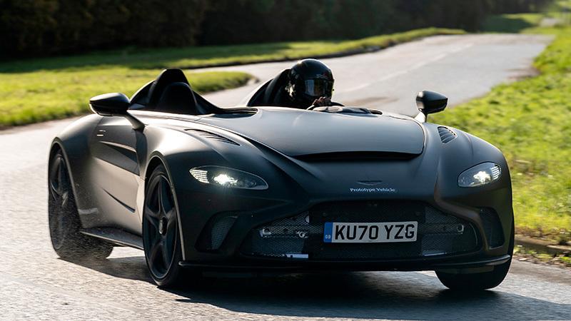 Foto de - aston-martin v12-speedster 2021
