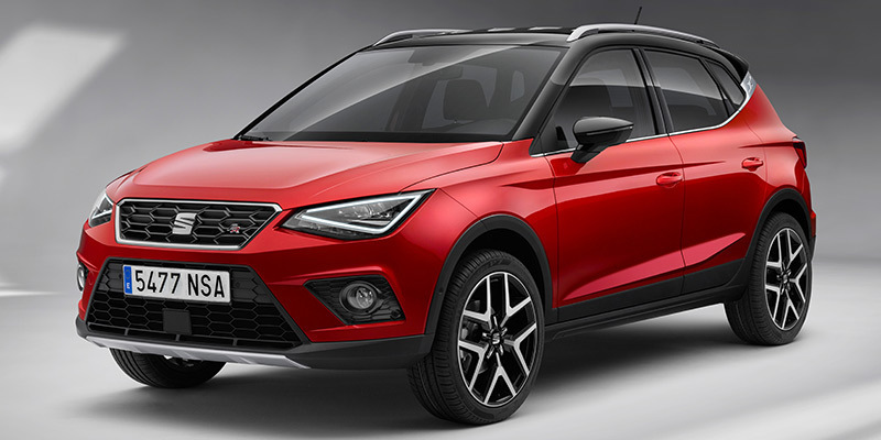 SEAT Arona FR 2018 - Frontal lateral