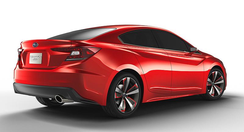 Foto de - subaru impreza-sedan-concept-prototipo