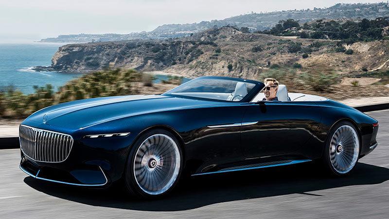 Foto de - mercedes vision-mercedes-maybach-6-cabriolet-prototipo