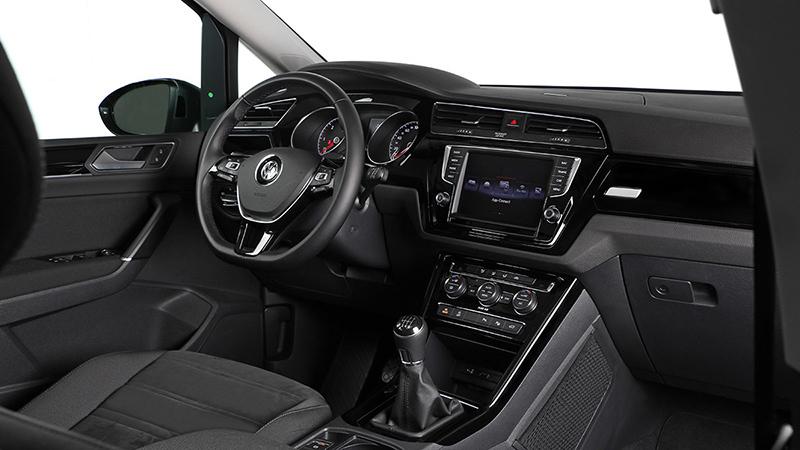 Volkswagen touran 2016 impresiones del interior for Interior touran