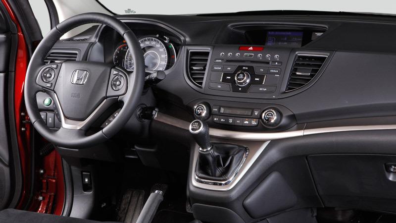 Honda cr v 2013 impresiones del interior for Honda cr v 2013 interior