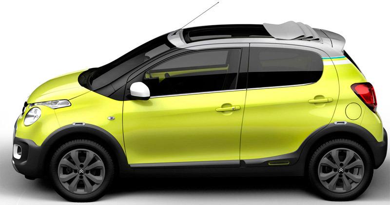 Foto de - citroen c1-urban-ride-prototipo