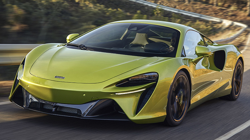 Foto de - mclaren high-performance-hybrid 2021