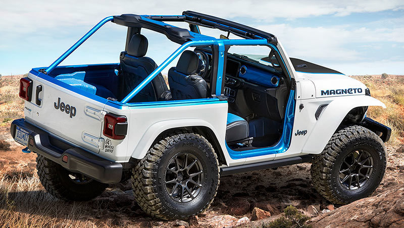Foto de - jeep magneto-prototipo