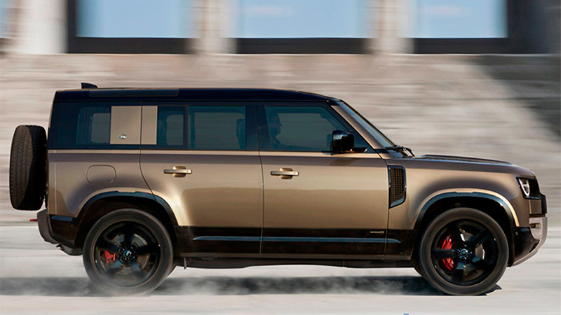 Foto de - land-rover defender 2020