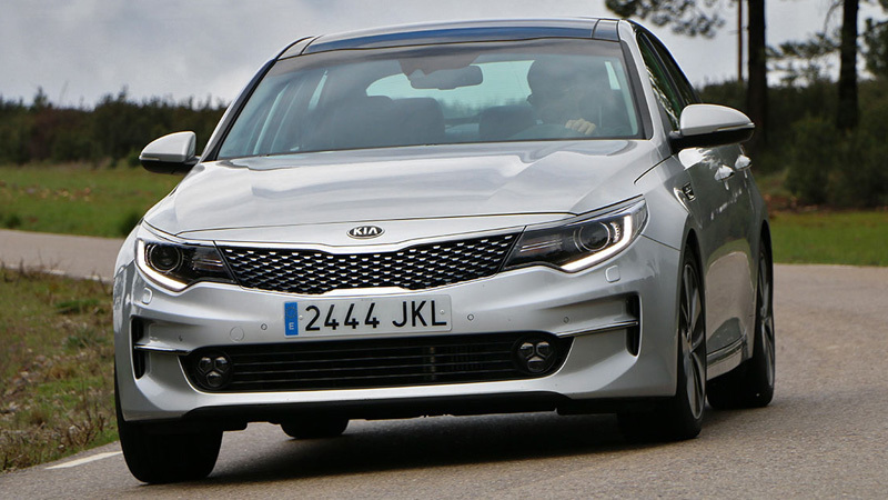 kia optima (2016) | información general - km77
