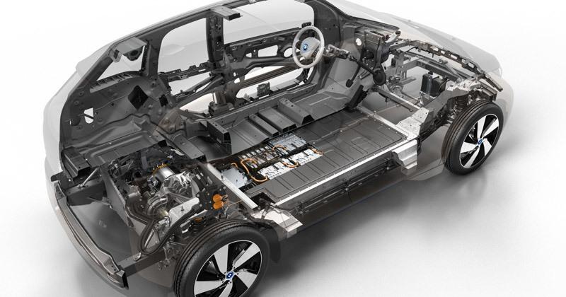 bmw i3 rex batería 42,2 kWh