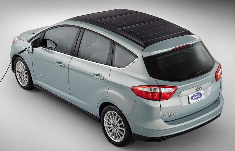 Foto de - ford c-max-solar-energi-concept-prototipo
