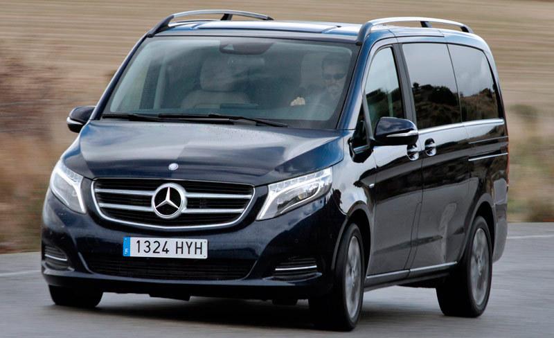 Exceptionnel Mercedes-Benz Clase V (2014) | Impresiones de conducción - km77.com IH33