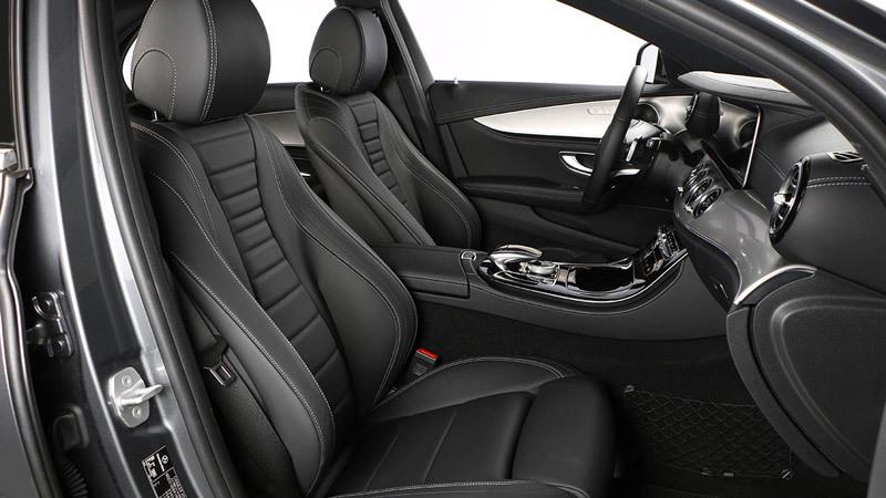 Mercedes benz clase e 2016 impresiones del interior for Interior clase a