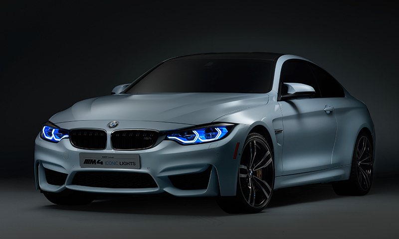 Foto de - bmw m4-concept-iconic-lights-prototipo