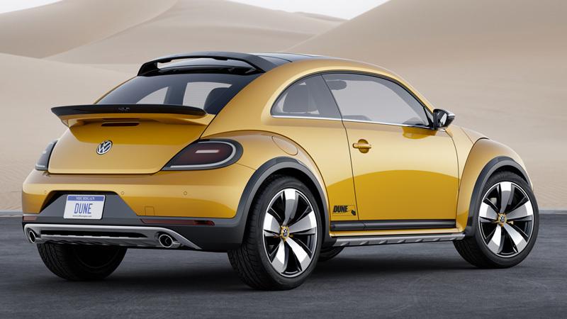 Foto de - volkswagen beetle-dune-prototipo