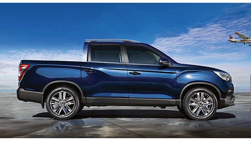 SsangYong Musso Pick-up (2019) | Información general ...