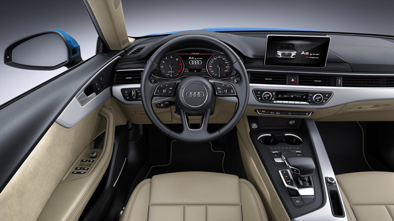 audi a5 sportback 2017 informaci n general. Black Bedroom Furniture Sets. Home Design Ideas
