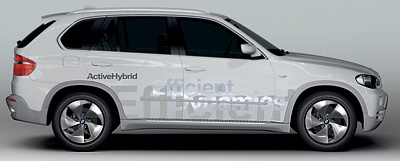Foto de - bmw vision-x5-efficientdynamics-prototipo