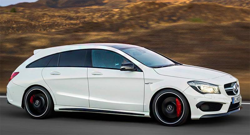 Mercedes Benz Cla Shooting Brake 2015 Informaci 243 N