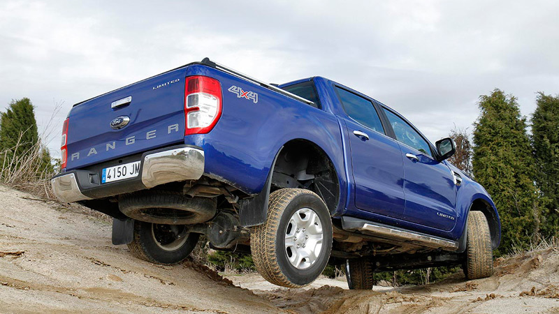 Ford Ranger 2016. Imágenes exteriores.
