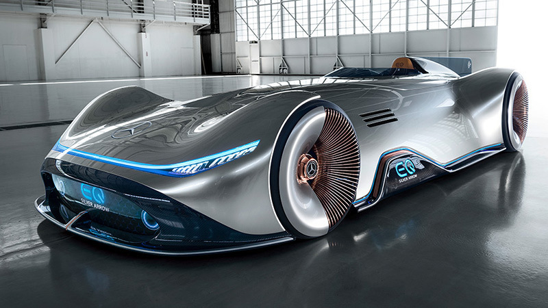 Foto de - mercedes eq-silver-arrow-prototipo