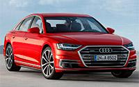Audi A8. Imágenes exteriores.