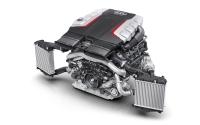 Motores Audi 2.9, 3.0 V6 y 4.0 V8 Imágenes exteriores.