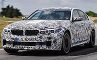BMW M5. Imágenes exteriores.