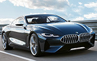 BMW Serie 8 Concept. Imágenes exteriores.